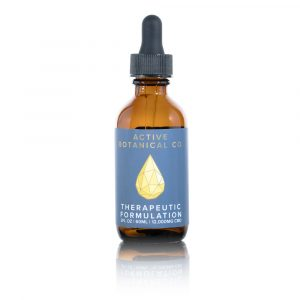 12000mg CBD Therapeutic Tincture Active Botanical Co.